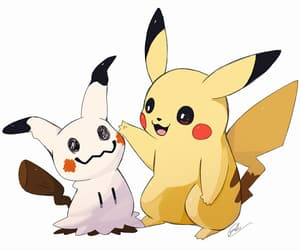 aesthetic, pikachu, and pretty image