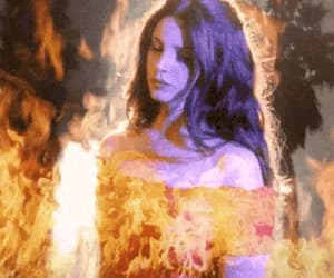 fire, gif, and lana del rey image