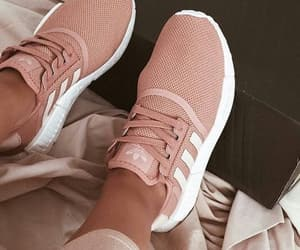adidas, beige, and pink image