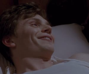 evan peters, american horror story, and he is so cute image