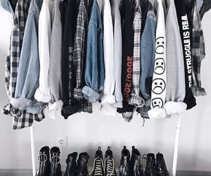 aesthetic, grunge, and grunge outfit image