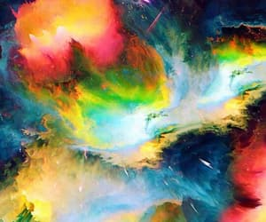 abstract, colorful, and explode image