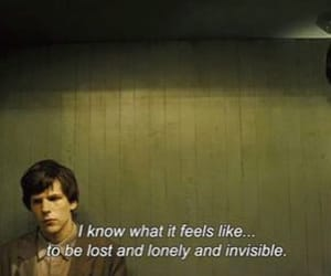quotes, sad, and invisible image