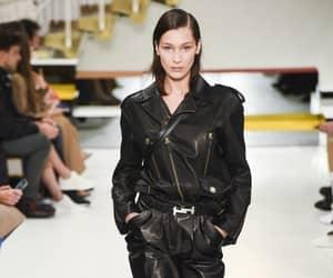 bella hadid and tod's fashion image