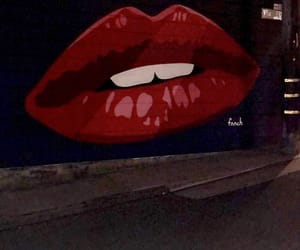 ca, graffiti, and lips image