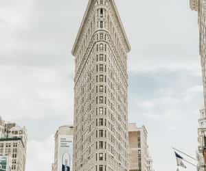 architecture, cities, and flatiron building image