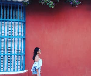 colombia, outfit, and vacation image
