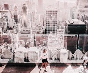 city, newyork, and style image