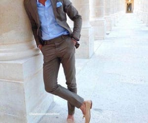 blue, elegant, and outfit image
