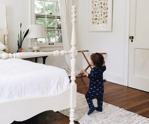 baby, bedroom, and boy image