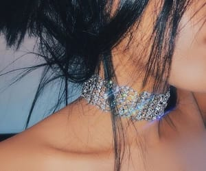 diamond, choker, and necklace image