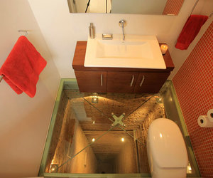 architecture, bathroom, and decor image