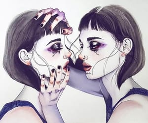 girl, harumi hironaka, and art image