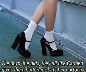 girl, Carmen, and eyes image