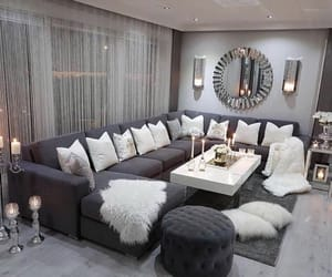 home, living room, and candles image