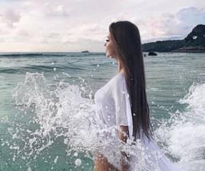 alternative, girl, and long hair image
