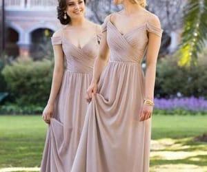 evening dress and bridesmaid dress image