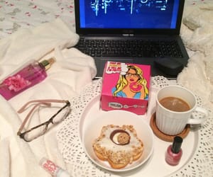 aesthetic, breakfast, and chocolate image