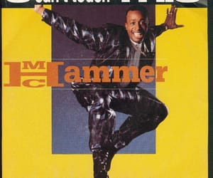 1990, mc hammer, and music image