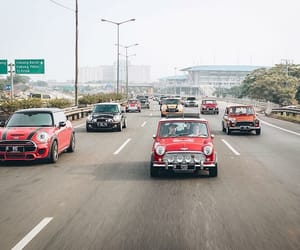 car, mini, and mini cooper image