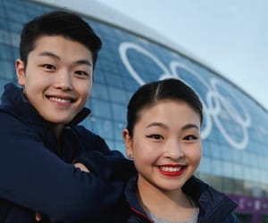 figure skating, Winter Olympics, and ice dancing image