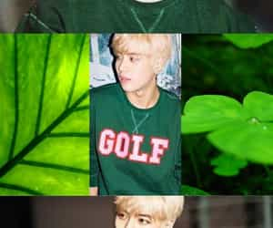 green, got7, and asthetic image
