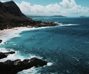 beach, ocean, and summer image
