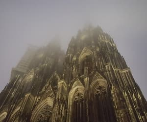 architecture, cologne, and fog image