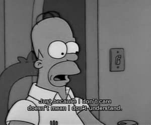 quotes, simpsons, and homer image