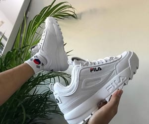 Fila and white image