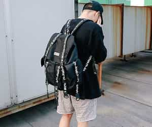 backpack, boyfriend, and outfits image