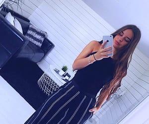 black, dress, and dressup image
