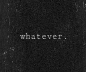 whatever, black, and wallpaper image