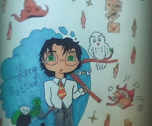 harrypotter, hedwig, and potterhead image