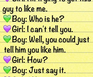 boy, funny, and text image