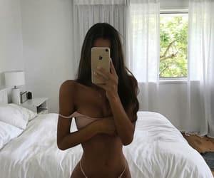 babe, bikini, and models image