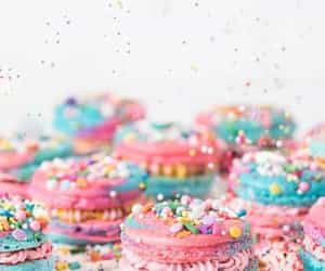 food, pastel, and sweet image