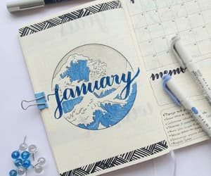 bullet, journal, and papelaria image
