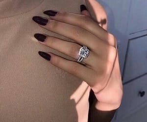 accessories, black, and nail goals image