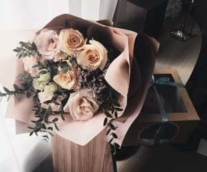 aesthetics, roses, and beauty image