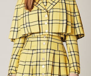 Clueless, fashion, and yellow image