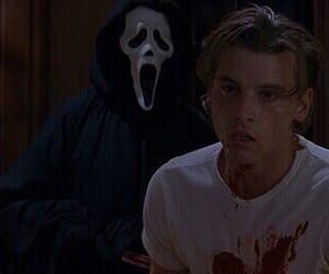 scream, movie, and blood image
