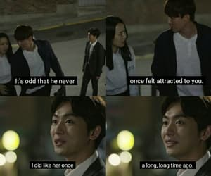 heart breaking, Korean Drama, and unrequited love image