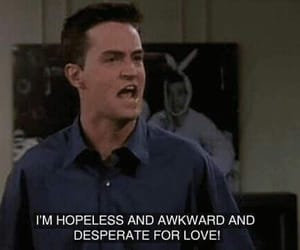 friends, love, and chandler image
