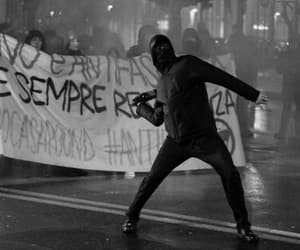 anarchy, protest, and revolution image
