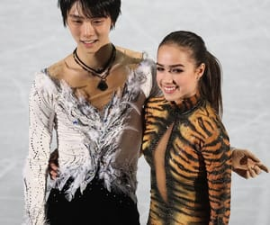 exhibition, figure skating, and japan image