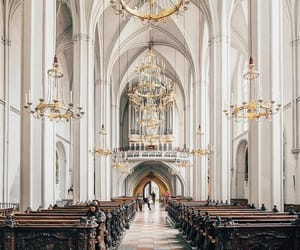 architecture, white and gold, and austria image