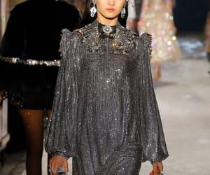 catwalk, diamonds, and Dolce & Gabbana image
