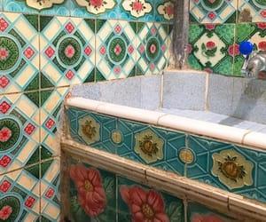 tile, tiles, and vintage image