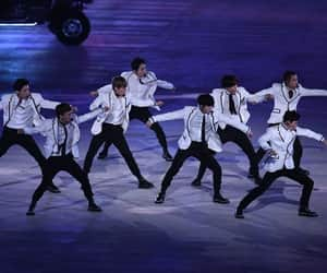 exo, kpop, and pyeongchang image